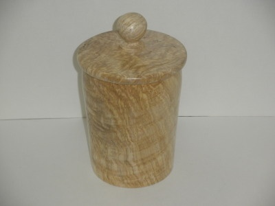 Spalted Maple Canister #2 - Dec 2011