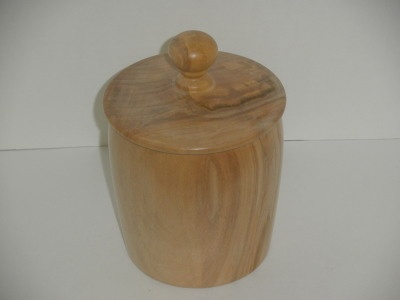 Spalted Maple Canister #3 - Dec 2011