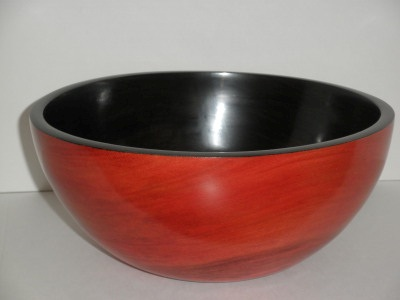 Dyed Sycamore Bowl - Jan 2012