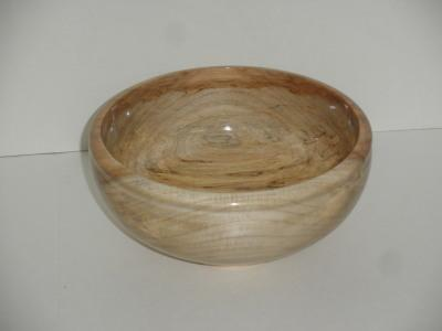 Spalted Maple Bowl - March 2012