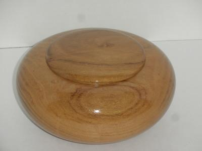 Honey Locust Lidded Bowl - March 2012