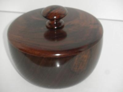 Lidded Walnut Box - March 2012