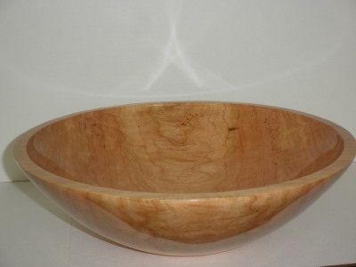 Twelve inch Cherry Bowl - May 2012