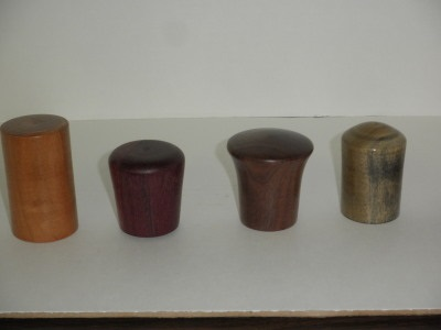 Various Bottle Stoppers - October 2012