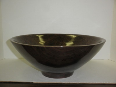 "14"" Walnut Bowl - Dec 2012"