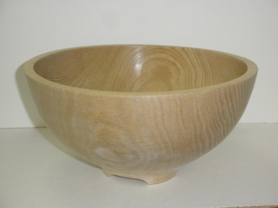 Sassafras Bowl – 12 Inch – Footed - Sept 2012