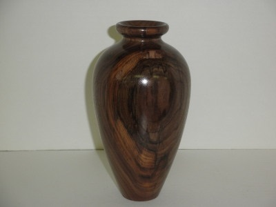 Ten Inch Walnut Vase - Jan 2013