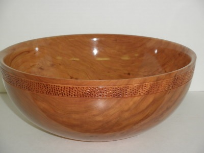 Fifteen Inch Cherry Salad Bowl - Jan 2013