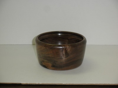 Eight Inch Zebrawood Bowl - July 2012