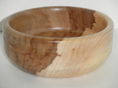 Eight Inch Elm Bowl - July 2012