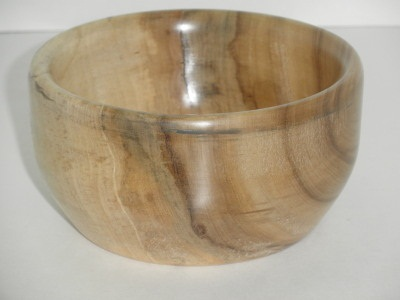 Six Inch Spalted Maple Bowl - July 2012