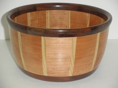 Segmented – Walnut, Cherrry, & Pine - Sept 2012