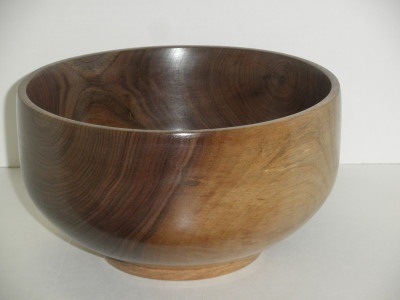 Walnut Bowl - July 2012