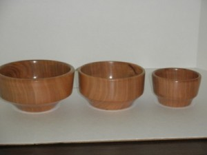 December 2015 Mike Canfileld Small Cherry Bowls