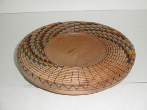 January 2016 Mike Patrick Beaded Platter