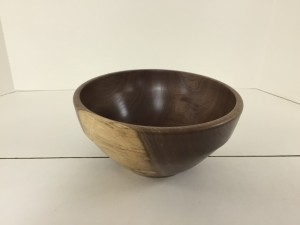 November 2015 Mike Canfield Small Walnut Salad Bowl