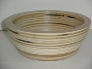 June 2016 Norbert Comtois Salad Bowl from Plywood 2